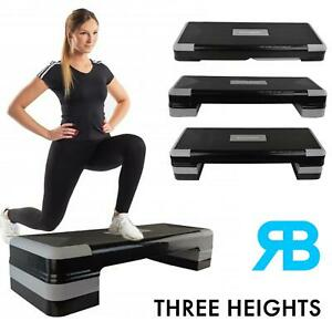 Aerobic Stepper Yoga Step Board Gym Fitness Exercise Cardio Home Adjustable