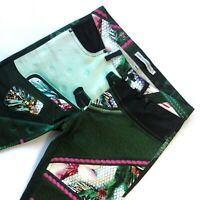 Mary Katrantzou All Over Print Trousers Made In UK Womens 26w 28l All Over Print