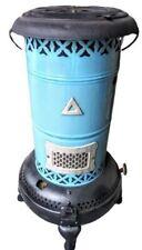 Antique Blue Enamel Perfection No. 430 Kerosene Oil Heater - Beautiful!
