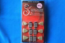 Grover Vintage 135 Series Tuners, 135N, Nickel