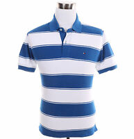 Tommy Hilfiger Men Short Sleeve Stripe Classic Fit Rugby Polo Shirt - $0 Ship