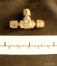T Piece In Metal - For 1.5mm Tubing - Pair