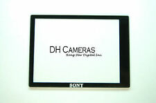 SONY ALPHA DSLR A350 Outer TFT LCD Screen Display Window Glass +ADHESIVE DH4491