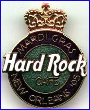 Hard Rock Cafe NEW ORLEANS 1995 Mardi Gras Crown HRC LOGO PIN