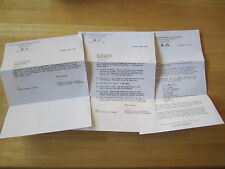 (3) Elvis Presley Letters from 1956 RCA Steve Sholes