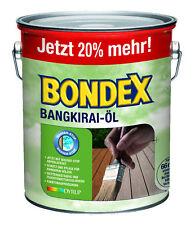 BONDEX Bangkirai �–l 3 Liter 7121 by Dyrup Holzschutz Pflege für Bangkirai Hölzer