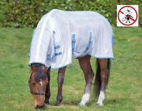 Bridleway Mesh Full Neck Combo All In One Horse Fly Rug With Belly & Tail Flap