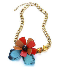 MARNI H&M Flower Pendant  Necklace