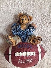 "Boyds Bears ornament ""Knute..Half Time"" #25705 1995"
