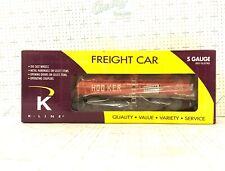 K-Line S Scale K511-014 HOOKER CHEMICAL TANK CAR  NIB