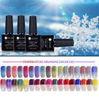 Thermal UV Nail Gel Polish LED Soak Off Color-changing  Gel Nails Salon
