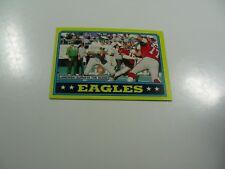 Philadelphia Eagles, 1986 Topps Jaworski Surveys the Scene card #268