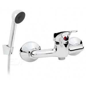 Duscharmatur Brause Armatur Einhebelmischer für die Dusche mit Duschset