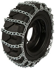 7.00X15 Forklift Tire Chains 8mm 2-Link Spacing Hyster Lift Truck Snow Traction