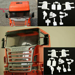 1/14 Plastic Rear Rearview Mirror Kit For Tamiya Scania R620 R470 RC Tractor Car