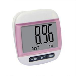 Waterproof LCD Pedometer Walking Run Step Calorie Distance Calculation Counter