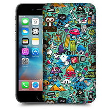 CUSTODIA COVER  per  APPLE IPHONE 7 TPU BACK CASE STICKERS