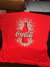 B29) Awesome Coke Coca Cola T-Shirt XL Mint Silhouette Bubbles