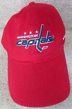 NHL Washington Capitals New Era Fits Baseball Cap Hat Red Size Large EUC c4aefaffcea0
