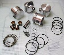 * FIAT 600 D E R 750 770 piston/rings set 63 mm diameter NEW RECENTLY MADE