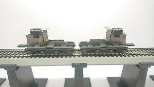 Athearn HO Train EMD DD40 8 Axle Diesel Locomotive Replacement Dummy Trucks