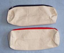 Federtasche, Federmäppchen zum Bemalen aus Baumwolle , 2 verschiedene wählbar