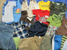 31 Piece Lot Infant Clothing Pants Shirts Shorts Onsies Rompers Size 6m