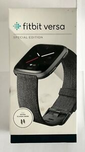 Fitbit Versa Special Edition Smartwatch Fitness Activity Tracker Woven Band
