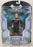 2002 Art Asylum Star Trek Nemesis Starfleet Jean-Luc Picard Action Figure Toy