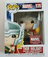 Funko Pop! Marvel Thor Holiday Collector Corps 535