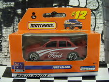 '00 MATCHBOX AUSTRALIAN FORD FALCON NEW IN BOX #12