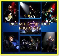 RICK ASTLEY 50 TOUR CONCERT LIVE PHOTO CD 1500