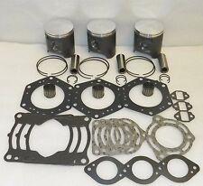 WSM Top-End Engine Rebuild Piston Kit - 1999-05 Kawasaki PWC (1200 STX-R)