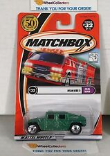 Humvee #32 * Green * Matchbox * NA24