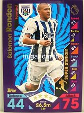 Match Attax 2016/17 Premier League - #340 Salomon Rondon - Super Striker