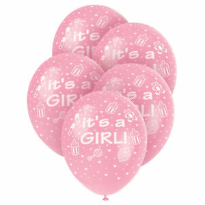 "12""Latex Printed Balloons Celebrations, Baby Shower new arrival Baby Decorations"