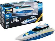 Revell Control 24138 RC Polizeiboot Wasserdichte Elektronik Ferngesteuert 31 cm