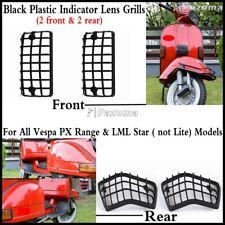 Scooter Turn Signal Light Indicators Lens Grills For Vespa P PX VSX VNX Stella