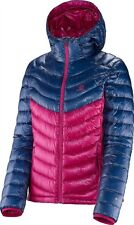 NEW  SALOMON Super Halo Hoodie Ski  800 Down Jacket  - women's  size XL  NEW