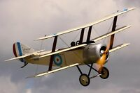 Vintage Balsa Laser Model Kit Sopwith Triplane Tripehound RFC WW1 Fighter Plane