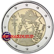 2 Euro Commémorative Slovénie 2014 - Barbara Celjska