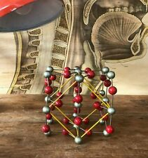 Vintage TITANIUM DIOXIDE educational molecular model scientific CRYSTAL RUTILE