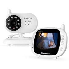 "Video Baby Monitor Camera 2-Way Talk 3.5"" Digital Wireless Night Vision LCD Play"