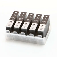5P Compatible 564XL BK Ink Cartridge for HP Photosmart 7510 7515 7520 7525