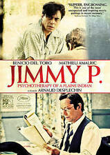 Jimmy P: Psychotherapy of a Plains Indian (DVD, 2014) Benicio Del Toro  NEW