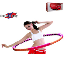 Health Hoop®-  5 LB Weighted Magnetic  Hula Hoop   for Exercise,Fitness workout