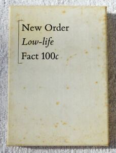 New Order Low-Life Fact 100c Cassette Box - VERY RARE!