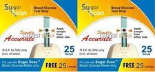"Wholesale -Thyrocare Sugar Scan ""50 Strips+50 Lancets"" Pack"