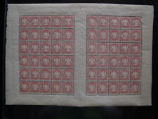 Bayern: Mi.Nr.33 im kpl. 60er-Bogen mit 6x ZW und PLF IV postfrisch