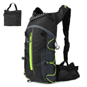 Foldable Cycling Backpack Lightweight Outdoor Sports Bike Riding Hydration R8Y9